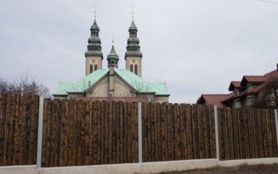 Ogrodzenie od ul. Makuszyńskiego