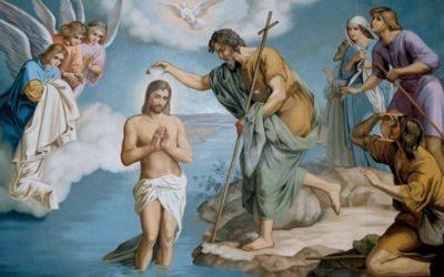 Niedziela Chrztu Pańskiego – 12 stycznia