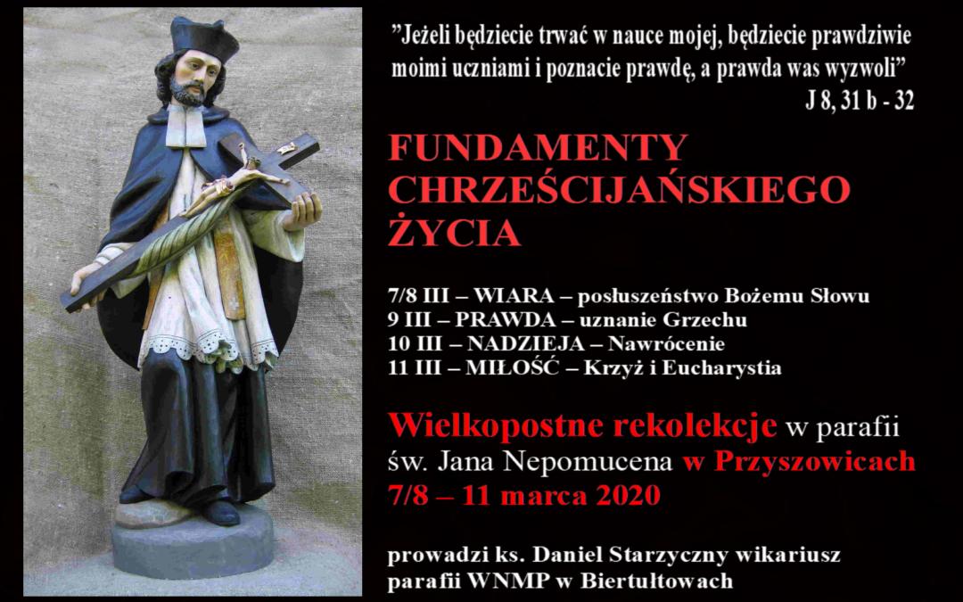 Rekolekcje wielkopostne. Ks. Daniel Starzyczny.     NADZIEJA (wersja audio).