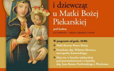 Modlitwa kobiet i dziewcząt u Matki Boskiej Piekarskiej – sierpień 2020