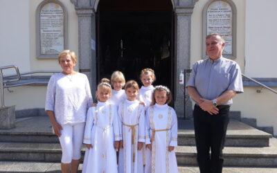 Pielgrzymka dzieci wczesnokomunijnych do Leśniowa – 5 września 2020 r.