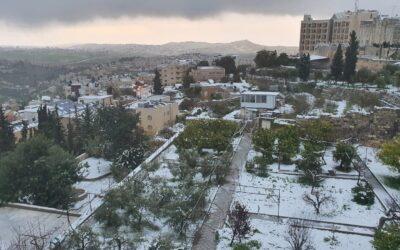 Pozdrowienia z zaśnieżonego Betlejem od Brata Ananiasza